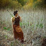 Одежда ручной работы. Ярмарка Мастеров - ручная работа Юбка шелковая XS - XXL. Handmade.