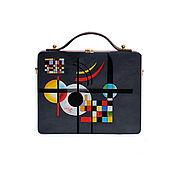 Сумки и аксессуары handmade. Livemaster - original item Bag of Kandinsky tree painting. Handmade.