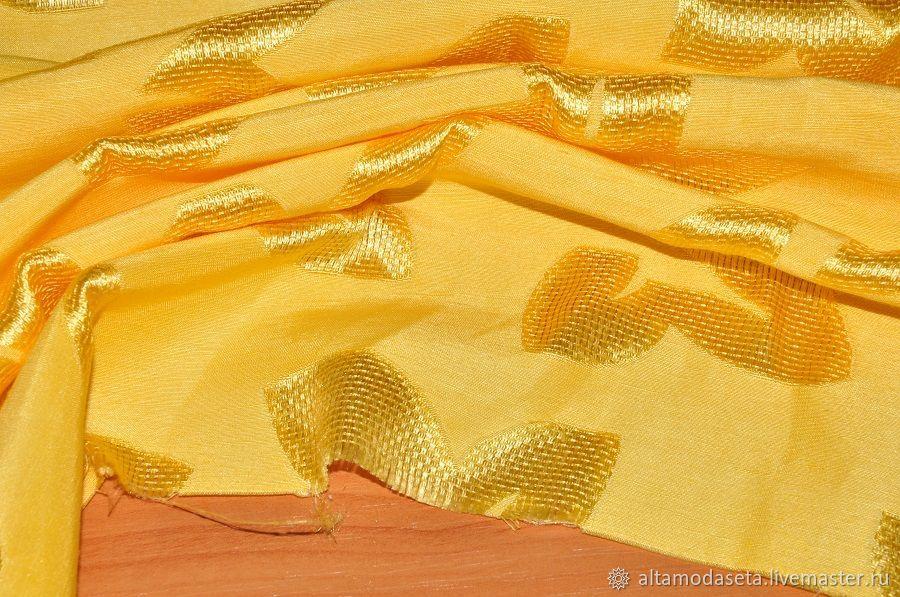 неаполитанский желтый цвет фото на ткани купить