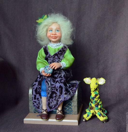 Коллекционные куклы ручной работы. Ярмарка Мастеров - ручная работа. Купить Интерьерная авторская кукла Мой Волшебный Сундучок. Handmade.