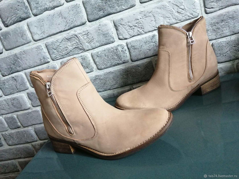 Винтаж: Шведские  ботинки  кожаные,, Обувь винтажная, Челябинск,  Фото №1