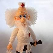 Куклы и игрушки ручной работы. Ярмарка Мастеров - ручная работа Доктор Айболит. Handmade.
