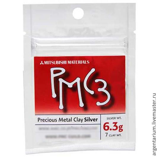 Другие виды рукоделия ручной работы. Ярмарка Мастеров - ручная работа. Купить Серебряная глина РМС-3, 6.3г. Handmade.