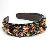 Украшения handmade. Livemaster - original item Headband, tiara, headband style, Dolce Gabbana. Handmade.