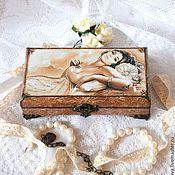 Для дома и интерьера handmade. Livemaster - original item Jewelry box - copernica