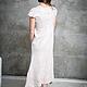 """Платья ручной работы. Валяное длинное платье """"Сappuccino"""". Лена Баймут (Baymut). Ярмарка Мастеров. Пастельный, лавандовый, свадебное платье"""