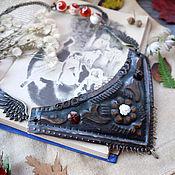 """Украшения ручной работы. Ярмарка Мастеров - ручная работа Колье """"Тихо осень улетая машет желтою рукой"""" арт. 16301. Handmade."""