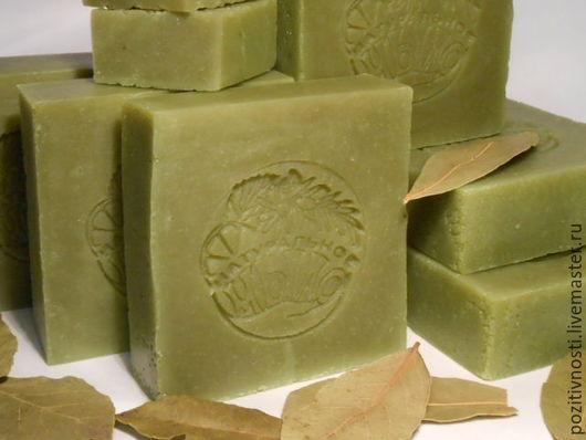 Мыло ручной работы. Ярмарка Мастеров - ручная работа. Купить Лавровое мыло (20% масла лавра). Handmade. Алеппское мыло