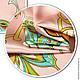 Шитье ручной работы. Ткань натуральный шелк Бабочки Versace. Инесса (MMonro). Интернет-магазин Ярмарка Мастеров. Шелк, шёлк