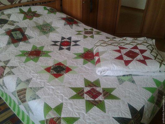 """Текстиль, ковры ручной работы. Ярмарка Мастеров - ручная работа. Купить """"Сиянье звезд рождественских"""". Handmade. Комбинированный, рождественский подарок"""