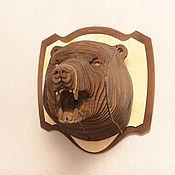 """Для дома и интерьера ручной работы. Ярмарка Мастеров - ручная работа """"Трофей"""" - Медведь. Handmade."""