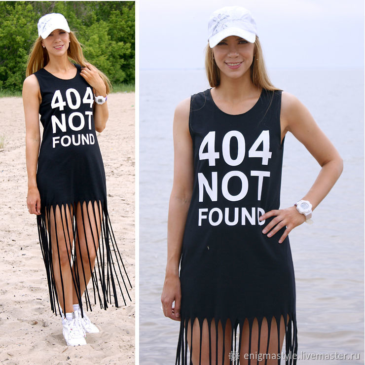 Fringed t-shirt dress, light holiday dress, sports sundress, Sundresses, Novosibirsk,  Фото №1