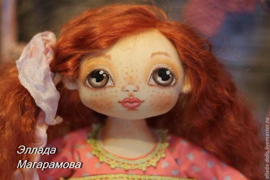 Коллекционные куклы ручной работы. Ярмарка Мастеров - ручная работа. Купить Игровая кукла Василиса.. Handmade. Кукла игровая
