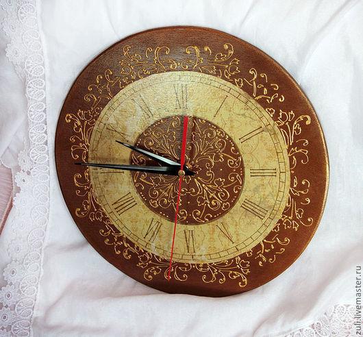 """Часы для дома ручной работы. Ярмарка Мастеров - ручная работа. Купить Часы """"Барокко"""". Handmade. Золотой, часы для дома"""