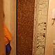 Элементы интерьера ручной работы. Ярмарка Мастеров - ручная работа. Купить панель для металлической двери. Handmade. Серебряный, кокосовая плитка