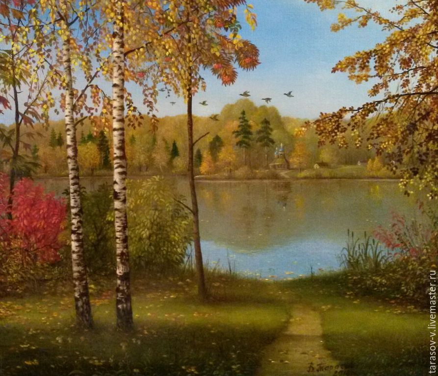 Author's painting the Summer is over, Pictures, Moscow,  Фото №1