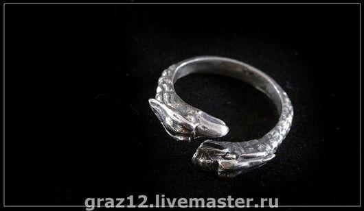 Кольца ручной работы. Ярмарка Мастеров - ручная работа. Купить Кольцо (Грифон). Handmade. Серебряный, кольцо грифон, кольцо для мужчин