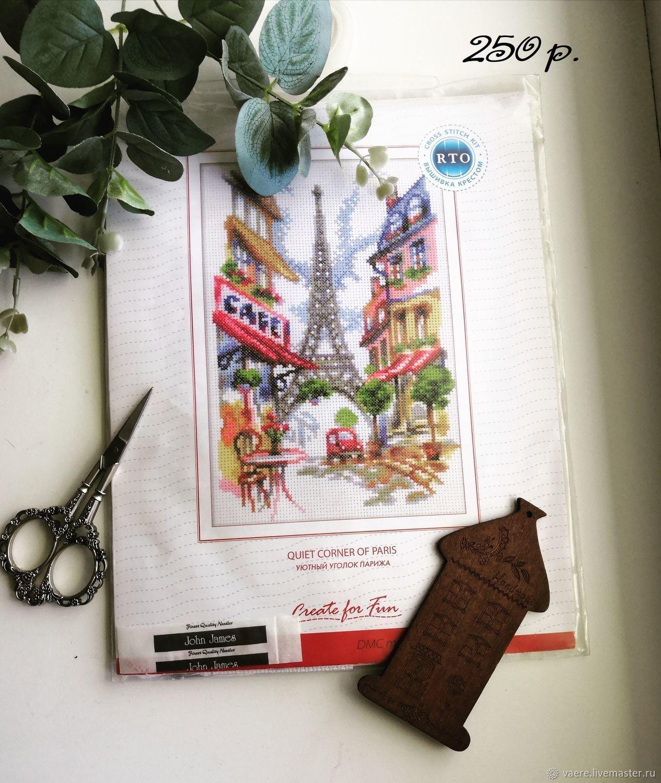 """Набор для вышивания РТО """"Уютный уголок Парижа"""" RTO M292, Схемы для вышивки, Тула,  Фото №1"""