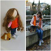 Куклы и игрушки ручной работы. Ярмарка Мастеров - ручная работа интерьерная кукла, авторская кула ручной работы,портретная кукла. Handmade.