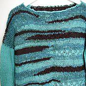 """Одежда ручной работы. Ярмарка Мастеров - ручная работа Джемпер """"Морской лед"""". Handmade."""