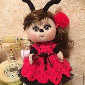 """Куклы и игрушки ручной работы. Ярмарка Мастеров - ручная работа Кукла Божия коровка """"Мальвина"""". Handmade."""