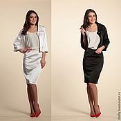 Одежда ручной работы. Ярмарка Мастеров - ручная работа 257:Женский костюм летний, офисный костюм на лето, юбочный костюм. Handmade.