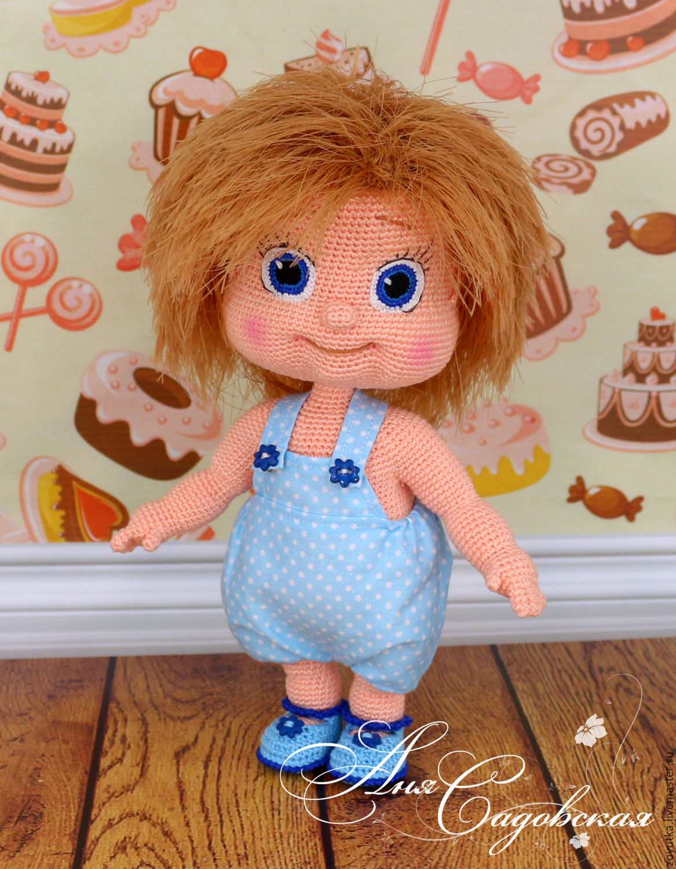 Вязание для больших кукол крючком 54