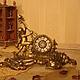 Винтажные предметы интерьера. Ярмарка Мастеров - ручная работа. Купить Старинные часы ПУТТИ (корпус) !!!  19век.. Handmade. Часы