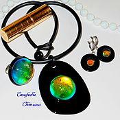 """Украшения ручной работы. Ярмарка Мастеров - ручная работа Кулон """"The Magic Bubble"""" (из стекла). Handmade."""