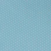 Материалы для творчества ручной работы. Ярмарка Мастеров - ручная работа Ткань Хлопок Сатин Саржа Китай Пшено Голубое. Handmade.
