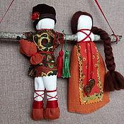 """Куклы и игрушки ручной работы. Ярмарка Мастеров - ручная работа Кукла Неразлучники """"Сила земли"""". Handmade."""