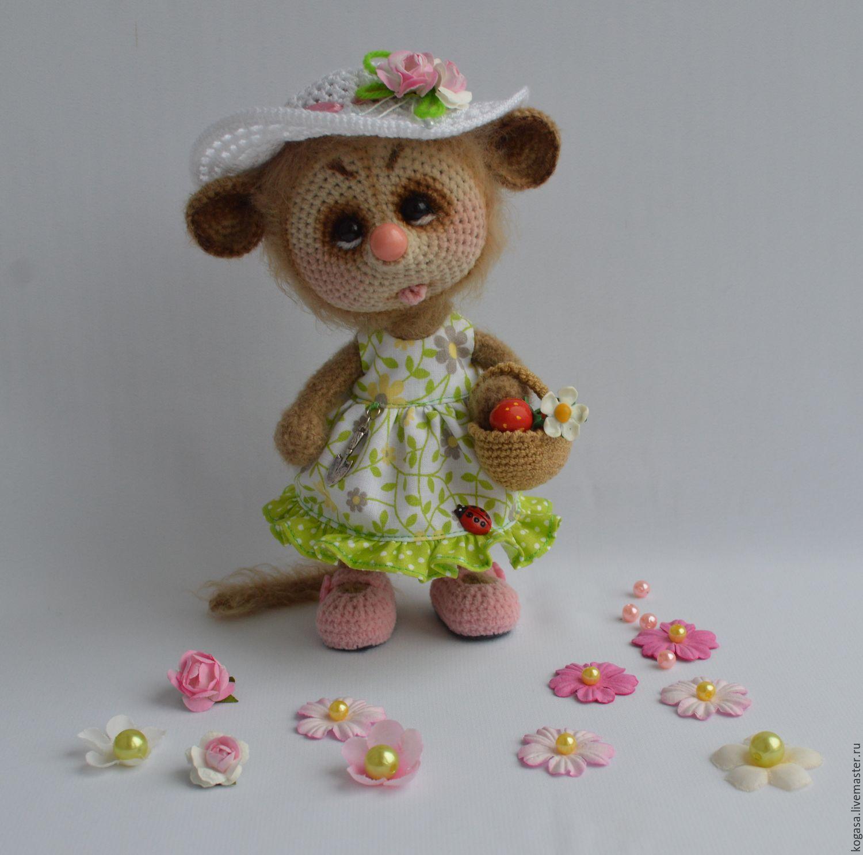 MK Mouse Ellie - the woman (hook), Knitting patterns, Chrysostom,  Фото №1
