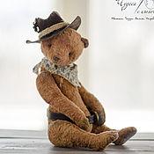 Куклы и игрушки ручной работы. Ярмарка Мастеров - ручная работа Ковбой. Мишка тедди. Handmade.