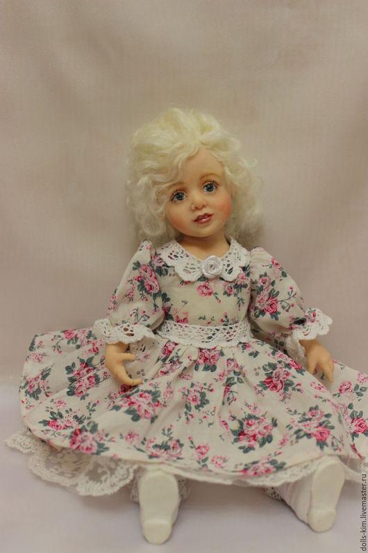 Коллекционные куклы ручной работы. Ярмарка Мастеров - ручная работа. Купить Катенька. Handmade. Комбинированный, авторская кукла, батист