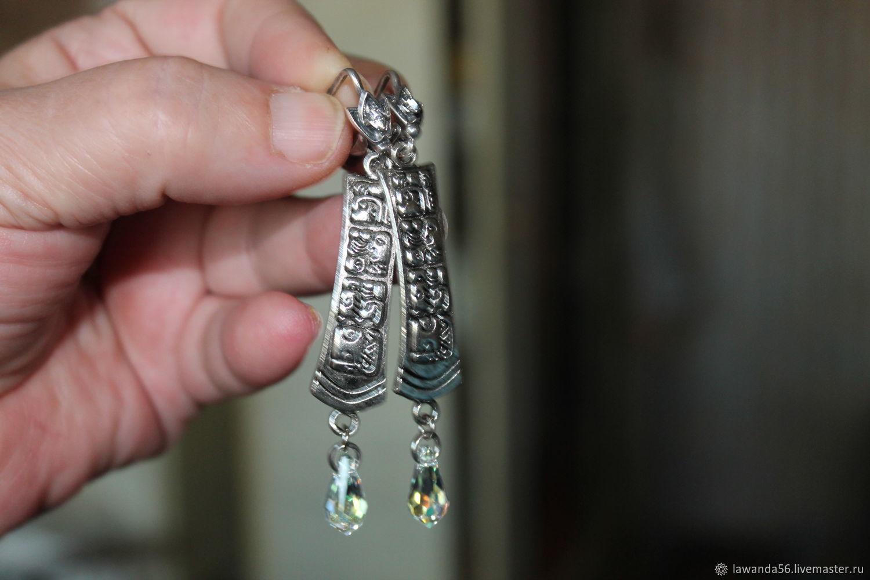 Earrings Arabic style of Arabesque, Earrings, Krasnoyarsk,  Фото №1