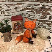 Куклы и игрушки ручной работы. Ярмарка Мастеров - ручная работа Деревянный Лис. Handmade.
