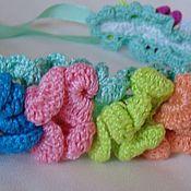 Аксессуары handmade. Livemaster - original item HEADBAND /knitted headband, the
