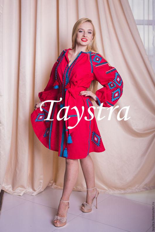 Платья ручной работы. Ярмарка Мастеров - ручная работа. Купить Платье женское, вышитое, бохо, этно стиль, Bohemia. Handmade.