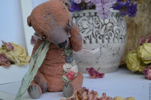 Мишки Тедди ручной работы. Ярмарка Мастеров - ручная работа. Купить little. Handmade. Бледно-розовый, медведь, старенький мишка