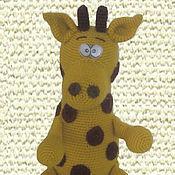 Куклы и игрушки ручной работы. Ярмарка Мастеров - ручная работа Жираф Сеня. Handmade.