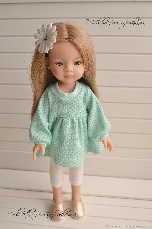 Платье трикотажное для куколки, Одежда для кукол, Архангельск,  Фото №1
