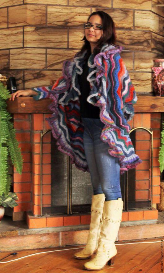 Кофты и свитера ручной работы. Ярмарка Мастеров - ручная работа. Купить Хомут-трансформер. Handmade. Комбинированный, ручная работа
