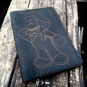 """Обложки ручной работы. Ярмарка Мастеров - ручная работа Обложка для паспорта DCC-03 """"Марио"""". Handmade."""