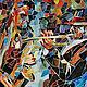 """Люди, ручной работы. мозаика из стекла """"джаз"""". Логунова Наталья (tinlun). Интернет-магазин Ярмарка Мастеров. Музыка, цветное стекло"""