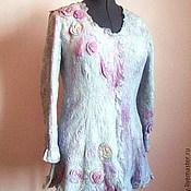 """Одежда ручной работы. Ярмарка Мастеров - ручная работа Жакет """"Серый жемчуг"""". Handmade."""