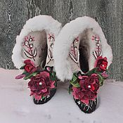 Обувь ручной работы handmade. Livemaster - original item Boots kitty size 36 - 37. Handmade.