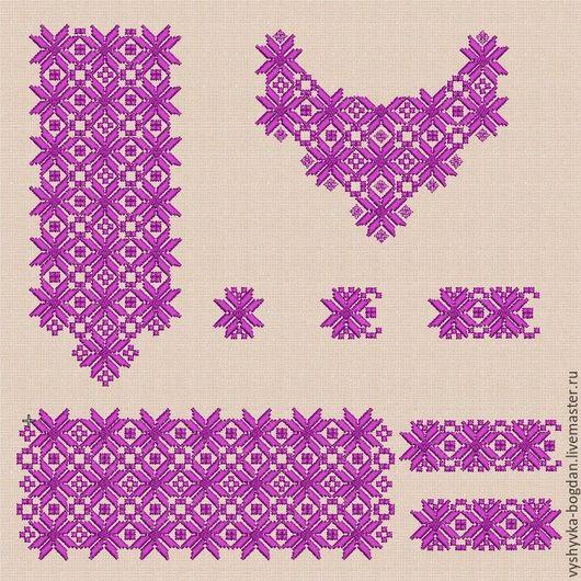Набор дизайнов для машинной вышивки для женской блузы. Отличное качество дизайнов, чистая аккуратная изнанка. Дизайны вышиваются без прыжков.  Форматы pes, hus, jef, dst, exp, vp3, vip, xxx .