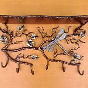 Для дома и интерьера ручной работы. Ярмарка Мастеров - ручная работа Вешалка с полочкой. Handmade.