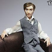 Куклы и игрушки handmade. Livemaster - original item Steven and George (13,5 cm). Handmade.
