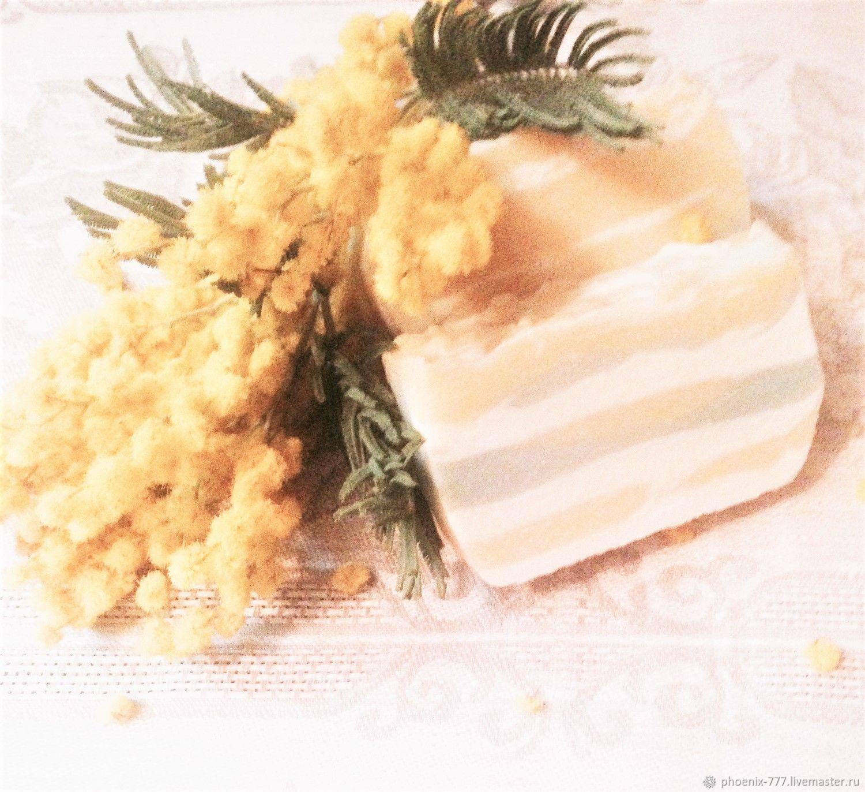 Фото: мыло натуральное ручной работы Мимоза (1500Х1372)